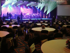 This was a gala event on the last evening of a conference for Enterprise (Rent-a-Car)