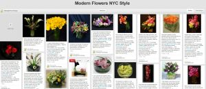 Modern Flowers NYC Style