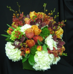 NYC Fall Flower Arrangements