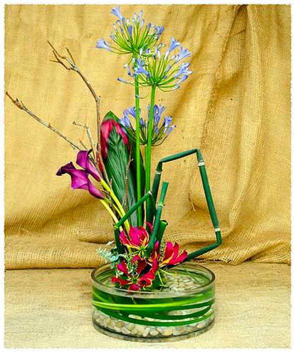 Ikebana Lily Pad