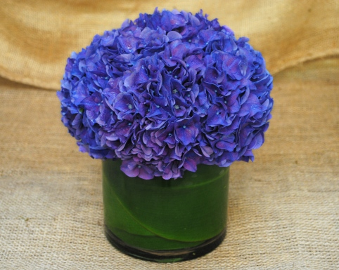 Blue Suede Bouquet