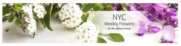 We would love for our Weekly Flowers program to brighten your spaces!