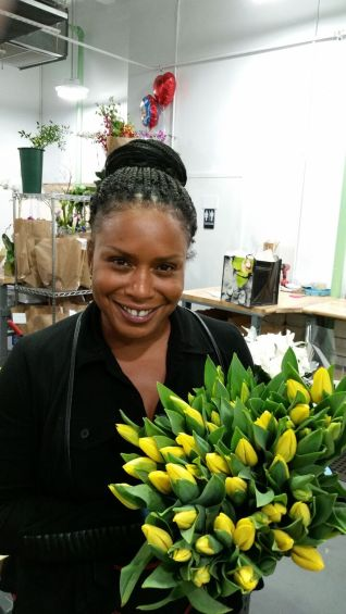 Nsombi brightens every bouquet of flowers!