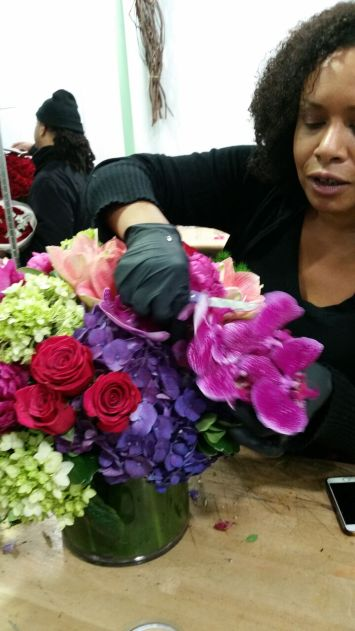 Nsombi recommends using the highest quality flowers available to make a stunning impact.