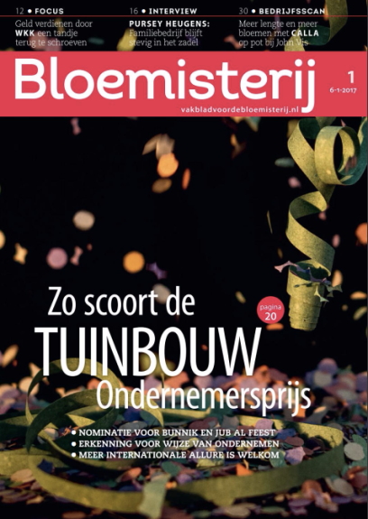 We were thrilled for Starbright to be interviewed by Dutch trade journals.